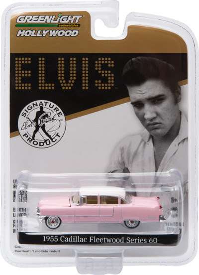 Item #44740-C – 1:64 Scale – 1955 Cadillac Fleetwood Series 60 – Elvis' Pink Cadillac