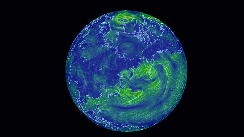 Advierten de un inminente colapso del vórtice polar del norte