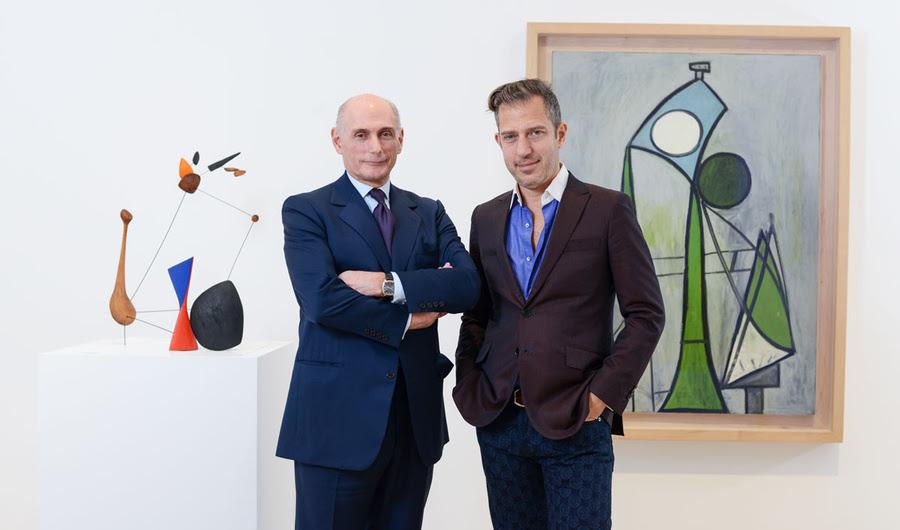 Calder e Picasso netos Curate um tributo aos seus avôs Legendary