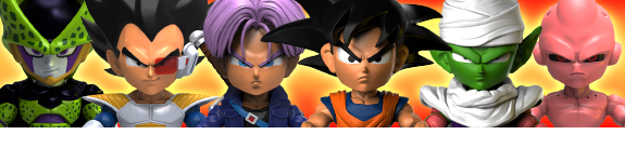 "DRAGON BALL Z 3"" VINYL FIGURES"