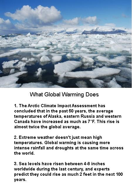 What Global Warming does