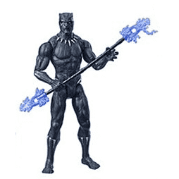 "Image of Avengers: Endgame 6"" Action Figure Wave 2 - Black Panther"