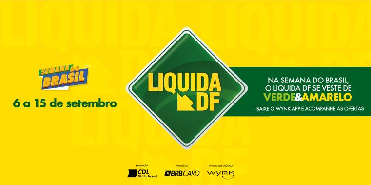 Na Semana do Brasil, Liquida DF agita Taguatinga Shopping com descontos especiais
