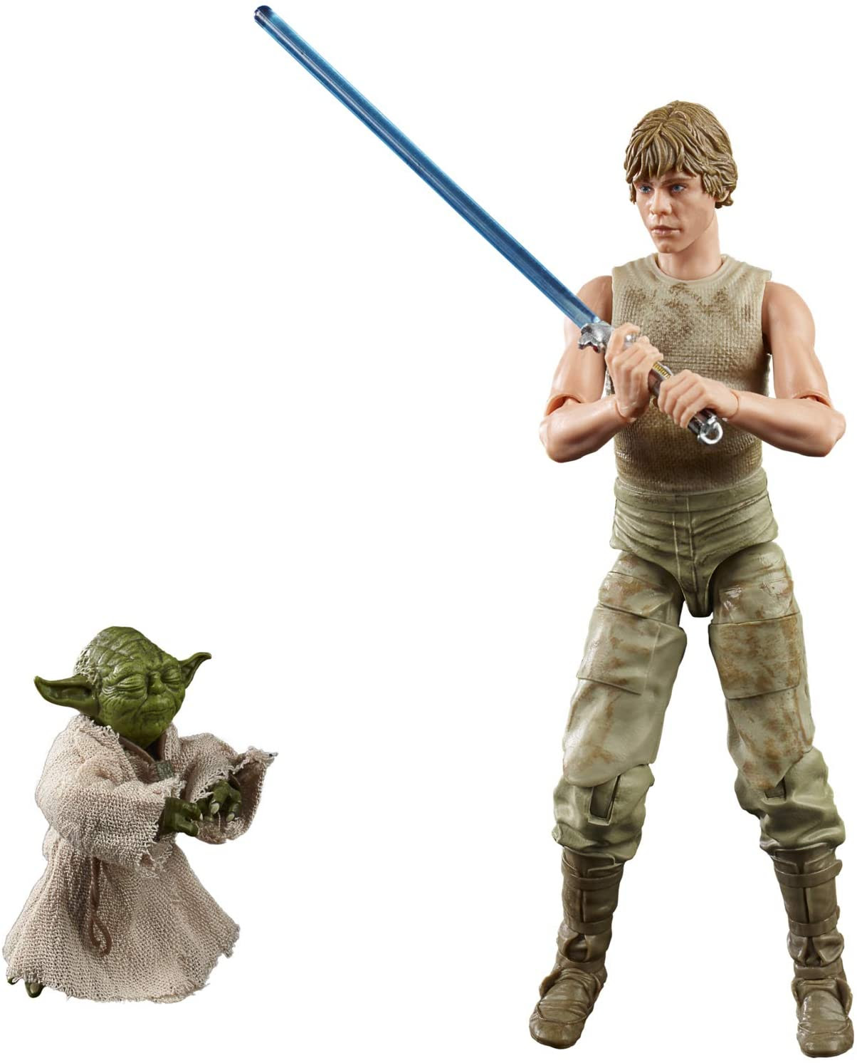 Image of Star Wars The Black Series Luke Skywalker and Yoda (Jedi Training) 6-Inch-Scale The Empire Strikes Back 40th Anniversary Figures