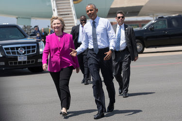 Most of President Obama's appearances for Hillary Clinton will be timed to coincide with voter registration deadlines.