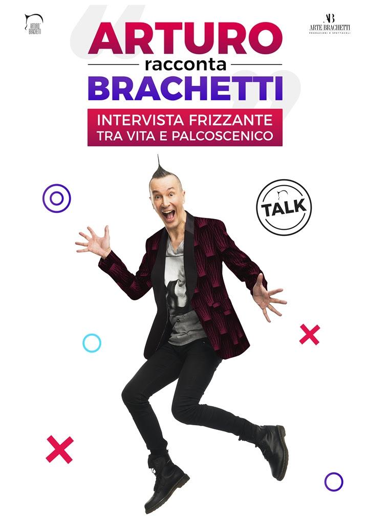 Locandina Arturo racconta Brachetti