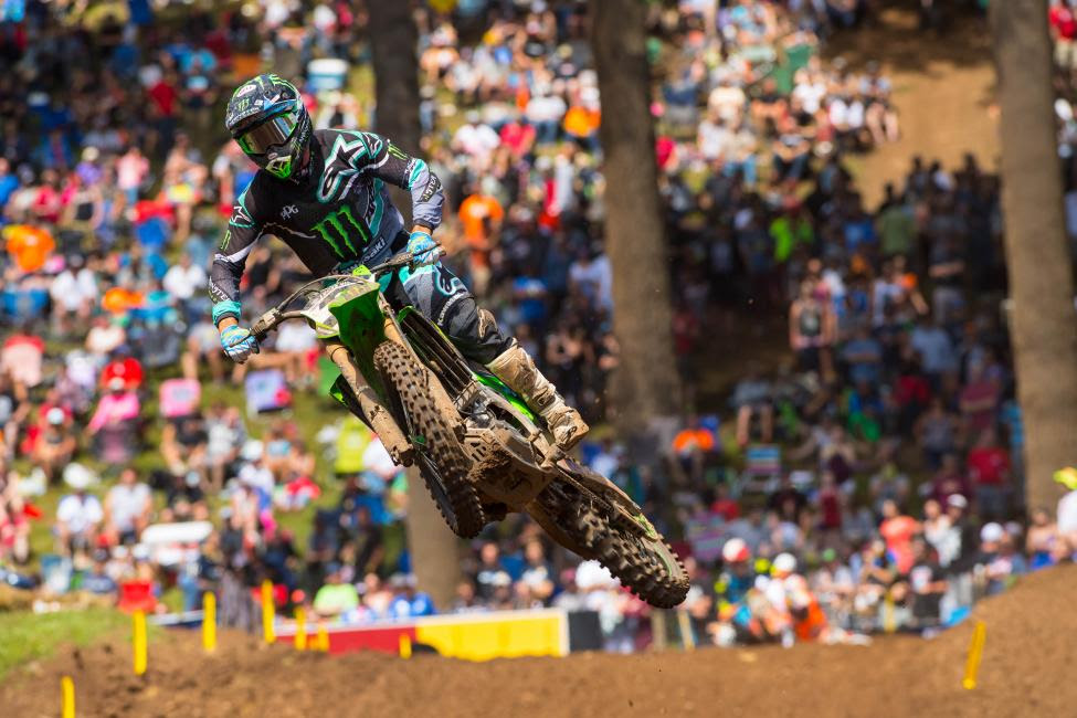 Tomac will look to claim his first title after finishing in the runner-up spot last season.Photo: MX Sports Pro Racing