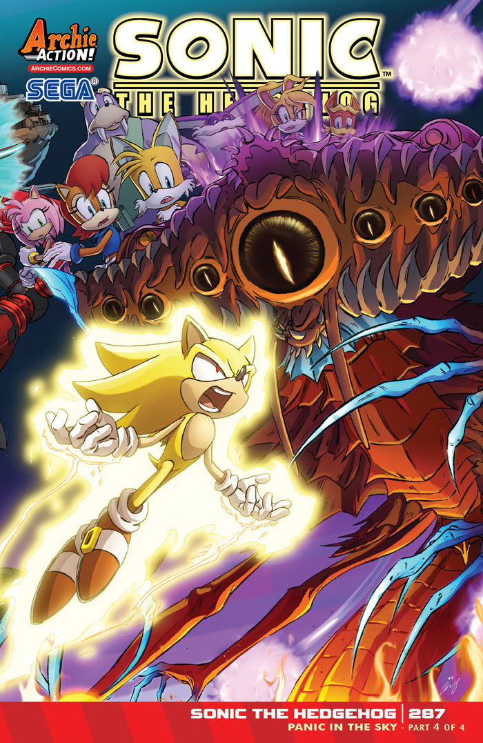 Sonic the Hedgehog #287 cover