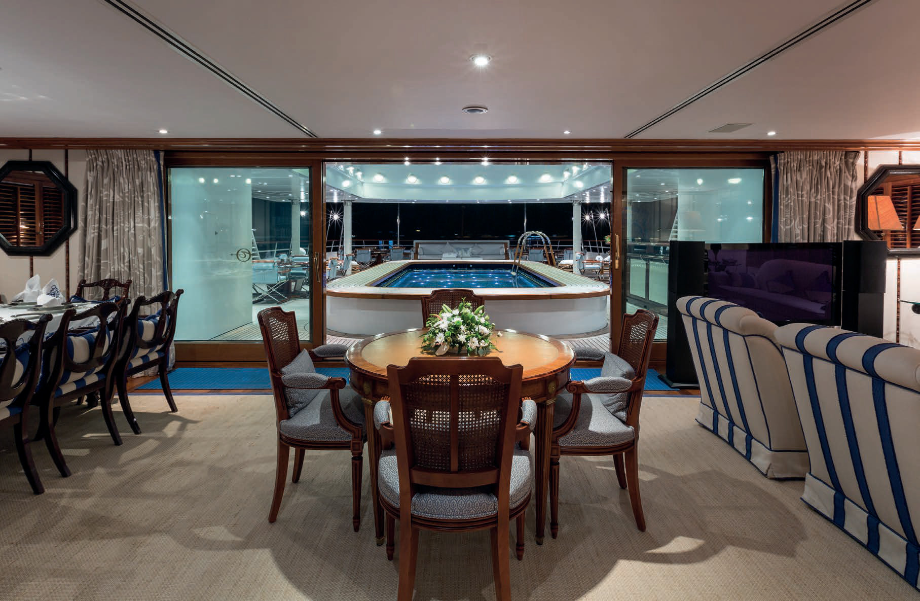 GRAND OCEAN AVAILABLE FOR CHARTER at the Cannes film festival and the Monaco Grand Prix