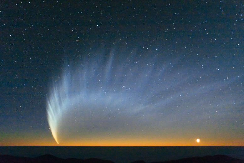 New Insights on Comet Tails Are Blowing in the Solar Wind