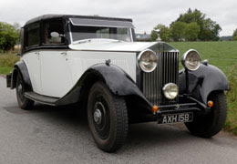 1933 Rolls-Royce 20/25 Sedancalet de Ville