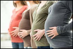 Influenza vaccination can reduce the risk for influenza-related illness among pregnant women and their infants.