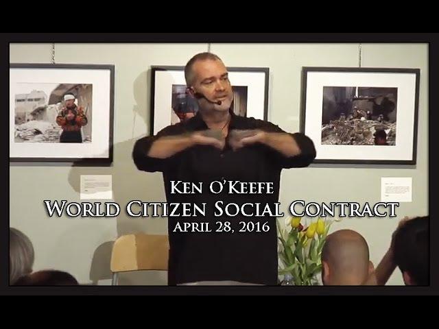 Ken O'Keefe - World Citizen Social Contract - Toronto 2016  Sddefault