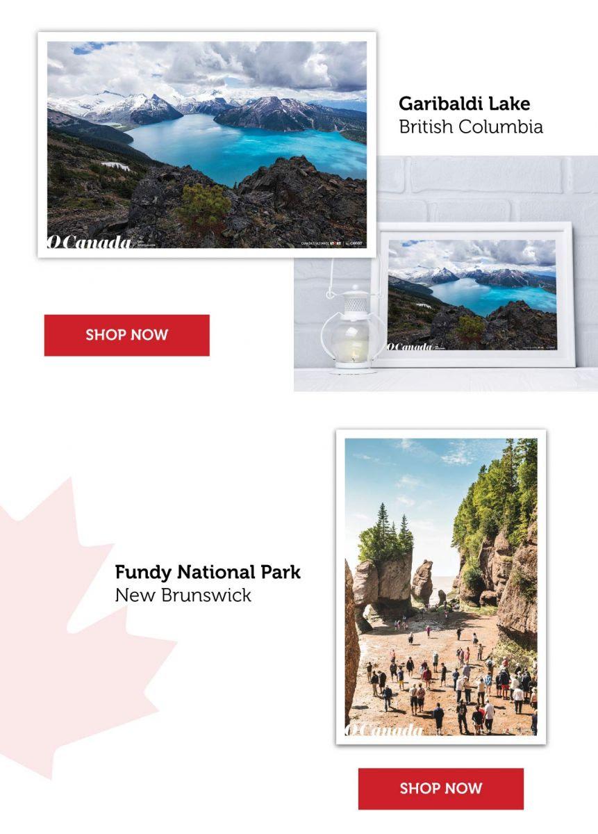O Canada Poster Set