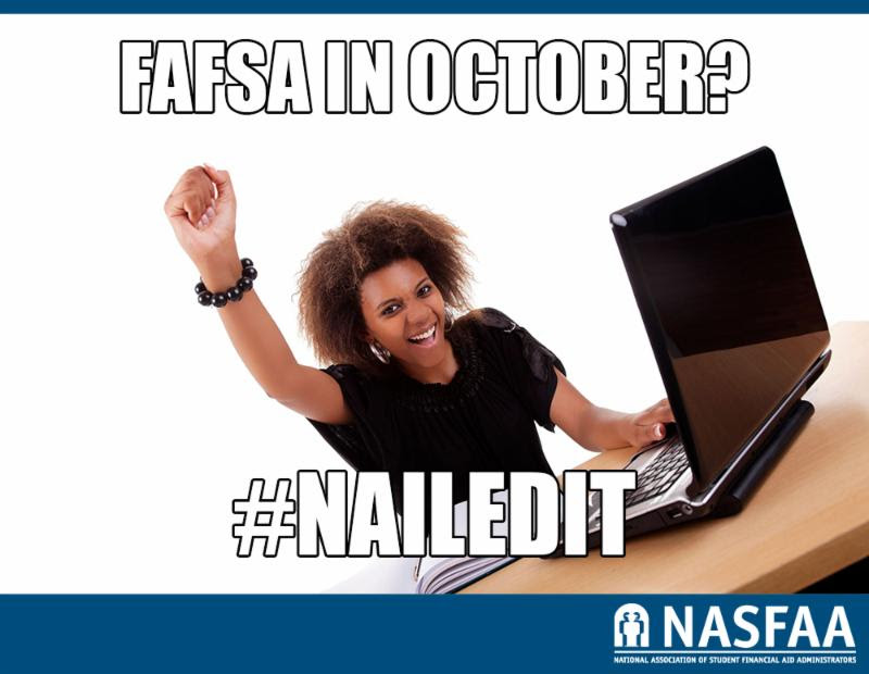FAFSA in October
