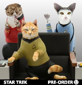Star Trek: The Original Series Cat Limited Edition Statues