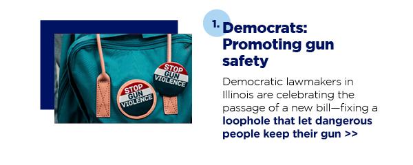 1. Democrats: Promoting gun safety