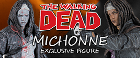 THE WALKING DEAD MICHONNE EXCLUSIVES