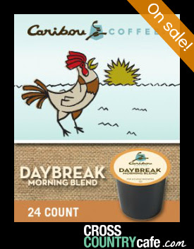 Caribou Daybreak Morning Blend Keurig K-cup coffee