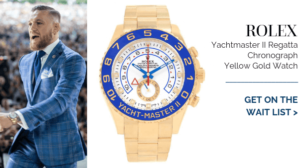 Yachtmaster II Yellow Gold