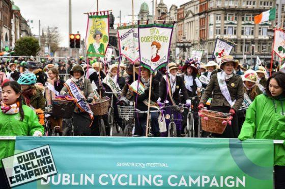 Dublin Cycling Campaign Parade