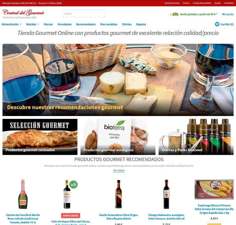 Tienda Gourmet Online con productos gourmet de excelente relación calidad/precio
