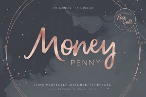 Money Penny - Typeface