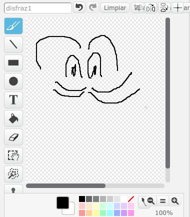 Editor de objetos de Scratch