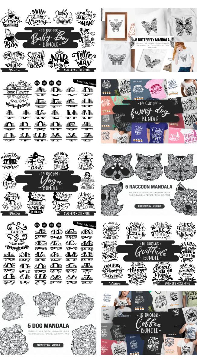 Spectacular Collection Big Bundle: 309 Premium Graphics