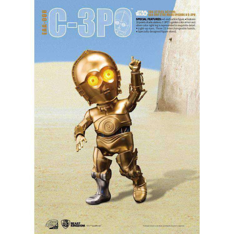 Image of Star Wars Egg Attack Action EAA-008 C-3PO (A New Hope)