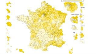 La France de l'abstention au premier tour