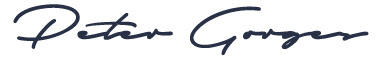 Peter Gorges Signature