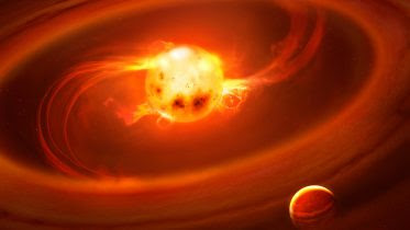 Streams of Hot Gas Build Up Stars