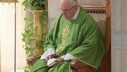 Papa Francisco en Santa Marta.