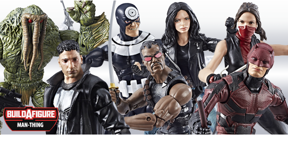 MARVEL KNIGHTS LEGENDS WITH MAN-THING BAF