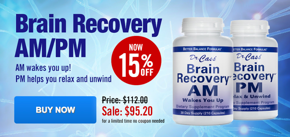 Brain Recovery AM PM Sale