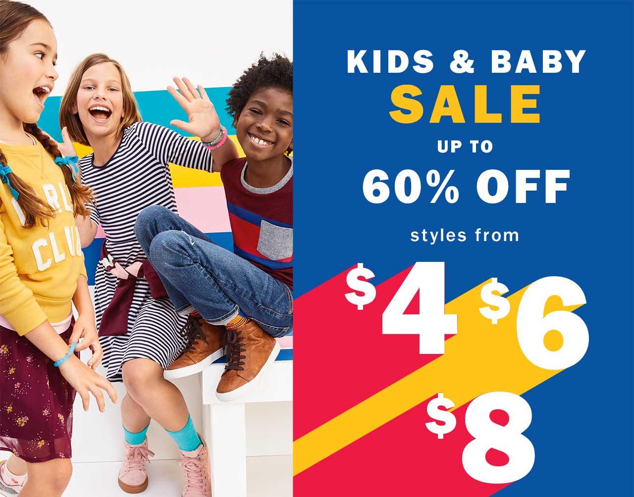 Kids & baby sale