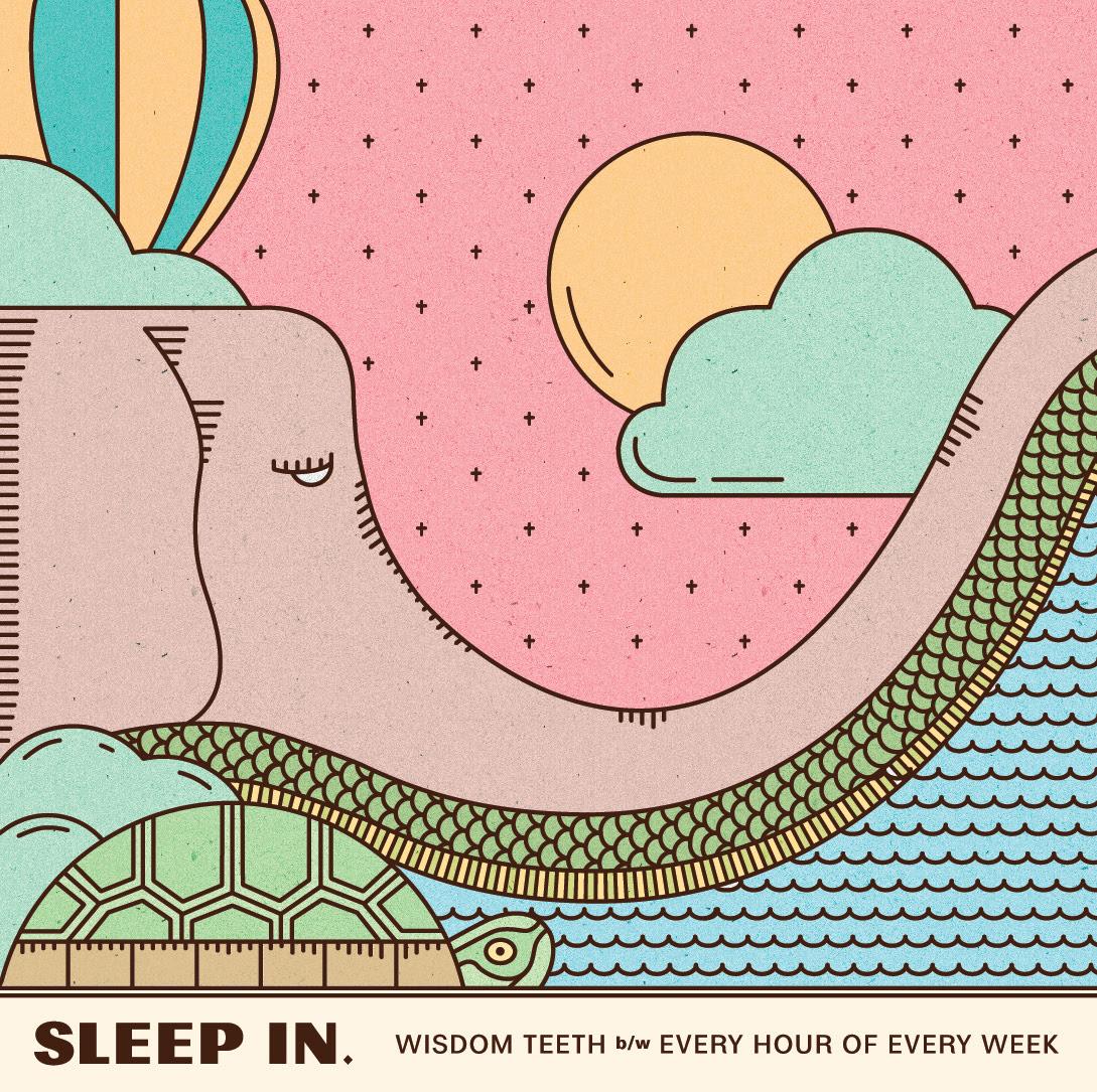 sleep in cover art