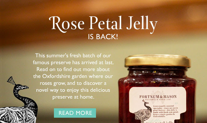 Rose Petal Jelly is back! This summer's fresh batch of our famous preserve has arrived at last. Read on to find out more about the Oxfordshire garden where our roses grow, and to discover a novel way to enjoy this delicious preserve at home. READ MORE