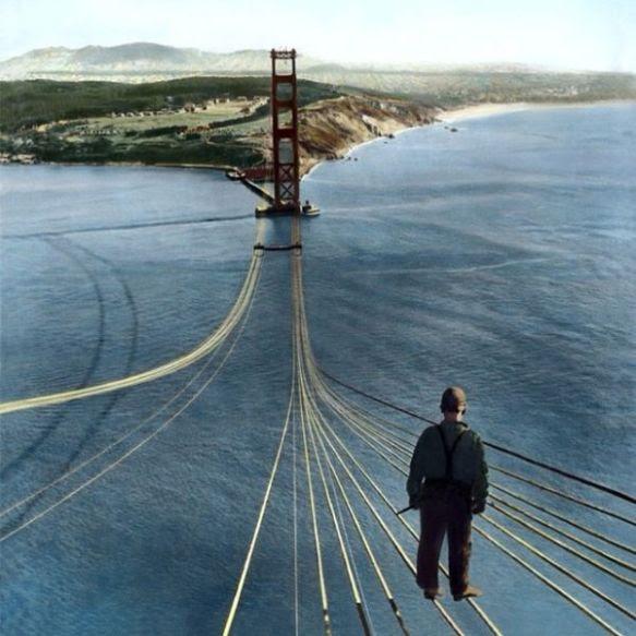 Building the bridge -6