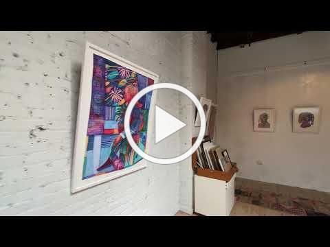 "Michael Booker's solo exhibition ""Godspeed"""