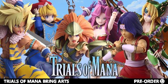 Trials of Mana Bring Arts