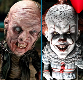 DEFORM REAL JASON & PENNYWISE