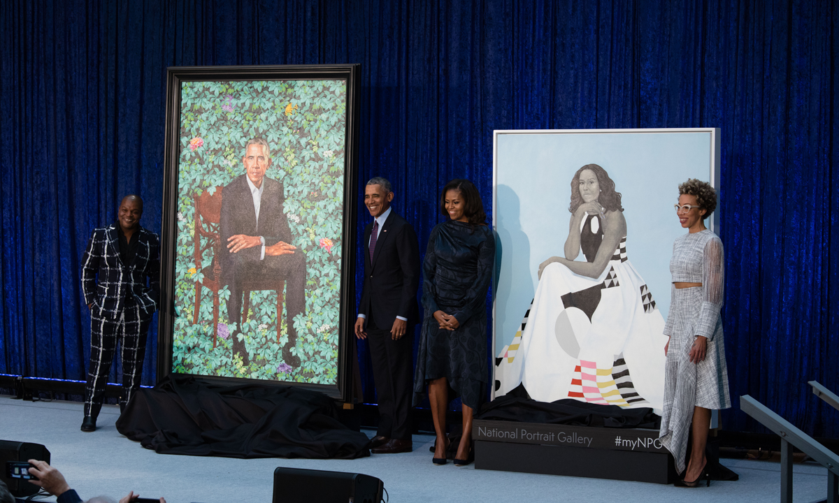 THREE YEARS WITH THE OBAMA PORTRAITS