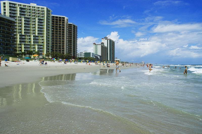 Myrtle Beach is a quieter alternative to those of Florida.