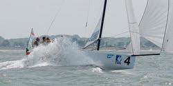 J/70 sailing Deutsche Segel-Bundesliga