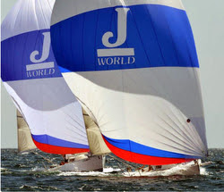 J/80s sailing Yachting Cup