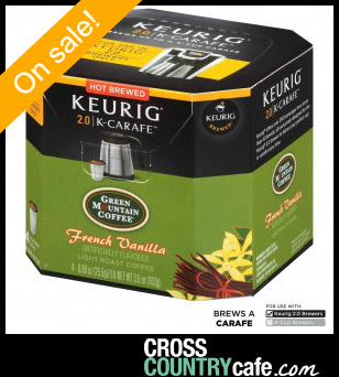 Green Mountain French Vanilla Keurig K-Carafe coffee