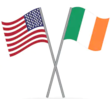 US-Irish flags