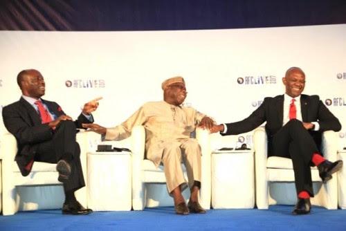 Soludo, Obasanjo and Elumelu
